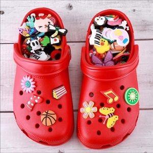 🎀100 Crocs shoe Charms NEW 🎀